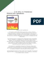 Resumen de La Obra, La Trukulenta Historia Del Capitalismo