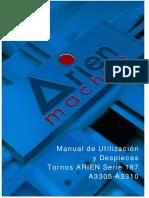 Manual de Trabajo Torno Arien a3310 a3305