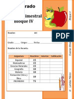 6to Grado - Bloque 4.doc
