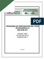 Programa Perforacion Maloob-447 FIRMADO (2)