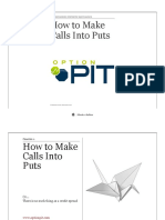 OptionPit How to Make Calls Into Puts