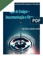 Água de Enxágue Descontaminação e Filtros - Mônica S. Sundin