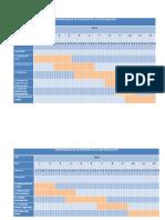 CRONOGRAMA DE ACTIVIDADES DE LA INVESTIGACIÓN 1