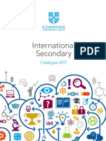 International Secondary Catalogue 2017