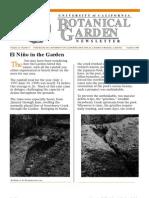 Summer 1998 Botanical Garden University of California Berkeley Newsletter