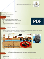 Fracking Tesis Diapositiva