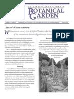 Winter 1999 Botanical Garden University of California Berkeley Newsletter