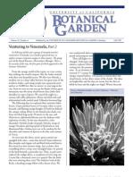 Fall 1999 Botanical Garden University of California Berkeley Newsletter