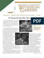 Spring 2000 Botanical Garden University of California Berkeley Newsletter