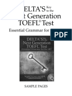 Toefl Sample
