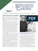 Summer 2000 Botanical Garden University of California Berkeley Newsletter