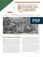 Fall 2000 Botanical Garden University of California Berkeley Newsletter