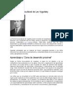 Teoría Sociocultural de Lev Vygotsky.docx