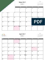 Indonesia Maret 2017 - Februari 2018