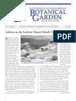 Summer 2001 Botanical Garden University of California Berkeley Newsletter