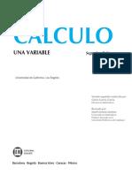 Calculo Una Variable