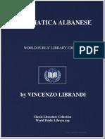 Grammatica Albanese - Vincenzo Librandi 1897