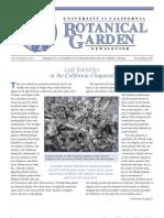 Winter-Spring 2005 Botanical Garden University of California Berkeley Newsletter