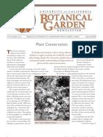 Summer-Fall 2005 Botanical Garden University of California Berkeley Newsletter