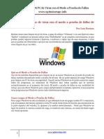 Como Limpiar Mi Pc de Virus Con El Modo a Prueba de Fallos de Windows