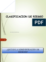 2.Clasificacion de Riesgo
