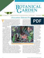 Winter-Spring 2007 Botanical Garden University of California Berkeley Newsletter