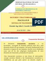 sistema de transmisión en motores