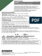 Gfi6302 User Manual