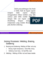 Soldering and Brazing Processes