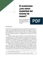 el ecoturismo UNA NUEVA MODALIDAD DEL TURISMO DE MASAS.pdf