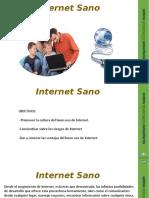 Taller Internet Sano en Formato PPT