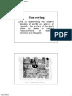 Compass Surveying Bandwhite