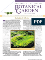 Winter-Spring 2010 Botanical Garden University of California Berkeley Newsletter
