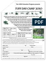 Green Stuff Camp registration flyer - University of California Botanical Garden at Berkeley