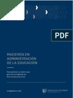 Compendio Teoría de La Administración en Educación 2017 Ucv