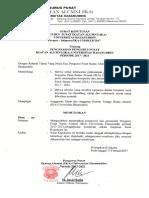Sk Pengurus Pusat Ika Unhas 2017-2021