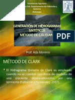 Hidrograma de Co Clark