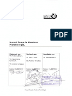 Manual Toma de Muestras Microbiologia. Hospital de Rancagua. 2011