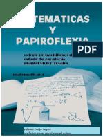 Relacion entre las matemáticas y la papiroflexia