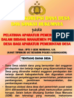 Slide Potensi Korupsi Dana Desa PDF