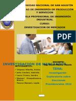 Inv Exploratoria Elecciones Presidenciales 2016 (Terminado)