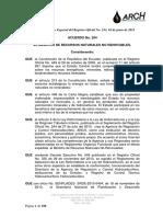 Acuerdo-264 Estatuto Org Arch