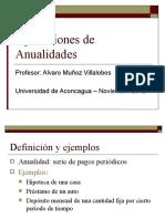 Presentación Anualidades UAC Módulo 3