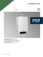 Instructiuni Vitodens 200 45 kw-150 kw