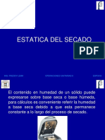 2 Estatica y Cinetica Del Secado