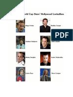 2010 FIFA WORLD CUP Football Stars and their Hollywood Lookalikes