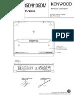 Kenwood Kac-8105d Dm