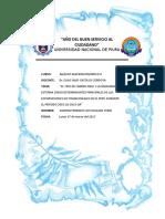 El Tipo de Cambio Real y La Demanda Externa Como Determinantes Principales de Las Exportaciones No Tradicionales en El Perú Durante El Periodo 2003 q1
