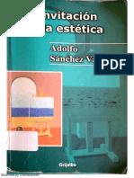 Sánchez Vázquez, Adolfo, Invitación a la estética (con OCR) (1).pdf