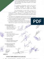 Acta Del Preacuerdo Para La Firma Del Convenio